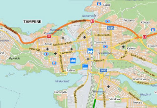 Tampereella tallailua