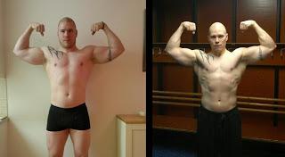 Tuntemuksia dieetin edistymisestä ja treeneistä