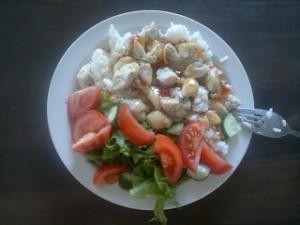Ruokaa, ruokaa, sillä se paino nousee…