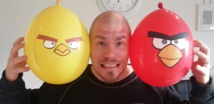 Partypartyyy!!! Angry Birds -partyy!!!