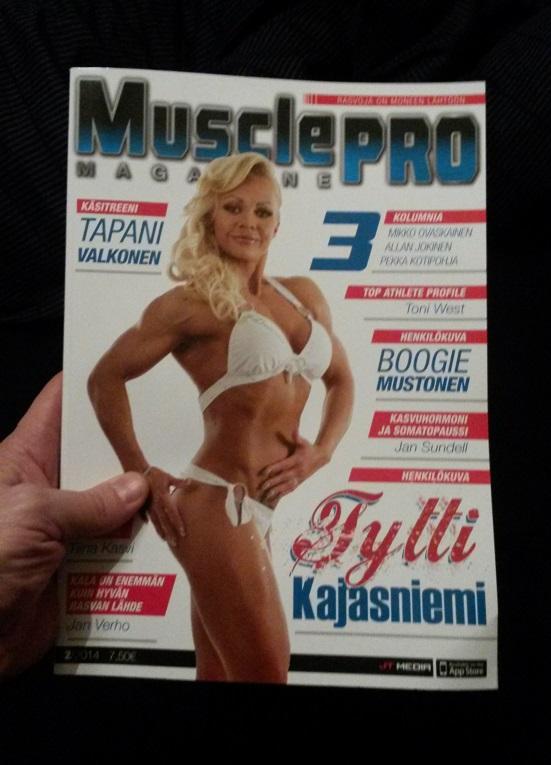 Metallisydän MusclePRO-lehdessä