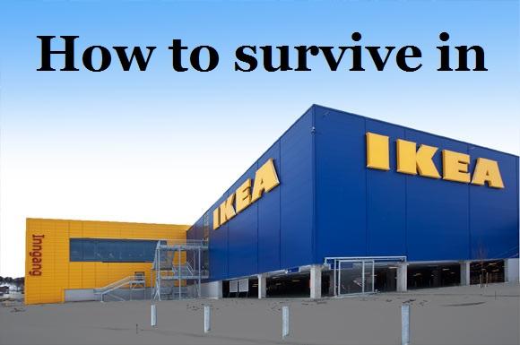 Mies, näin selviät Ikeasta