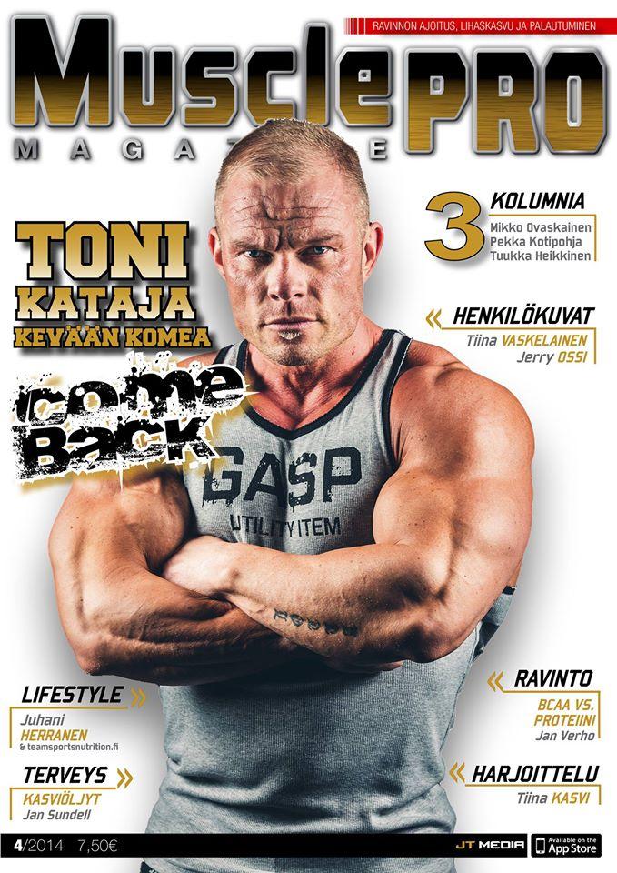 MusclePro, FitBODY, CrossTraining Magazine – Voita vuosikerta!