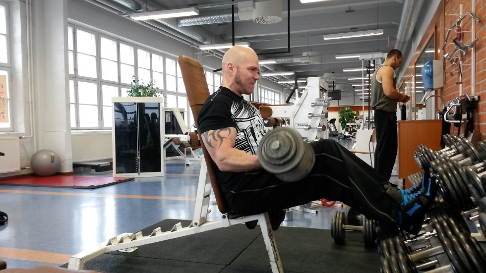 Biceps training 2
