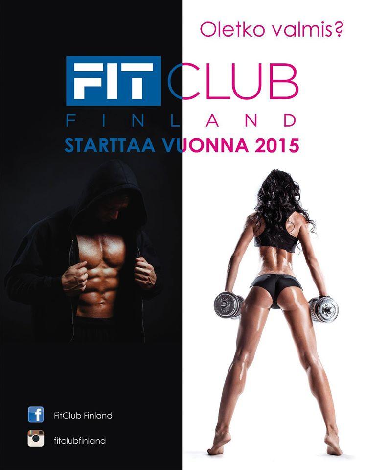 FitClub Finland tulee, oletko valmis?