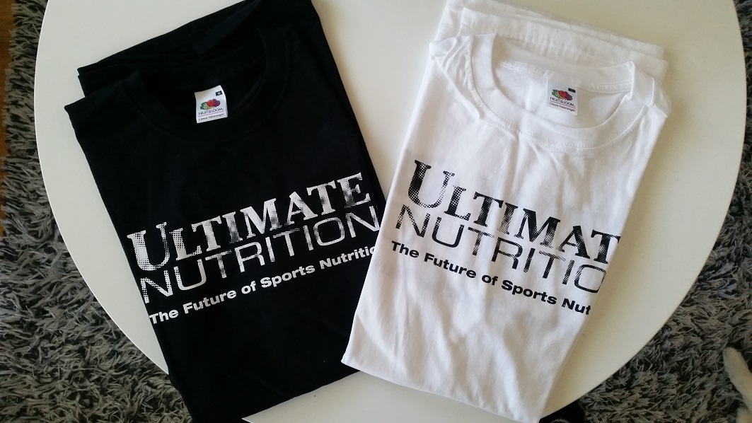 Ultimate Nutrition t-shirt