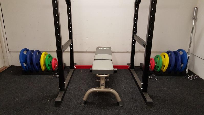 Metallisydän Gym laajenee – tee se itse painotelineet ja suuria suunnitelmia