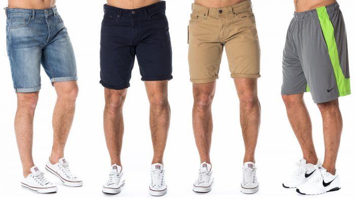 miesten shortsit