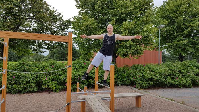 Fitnessleikkipuisto