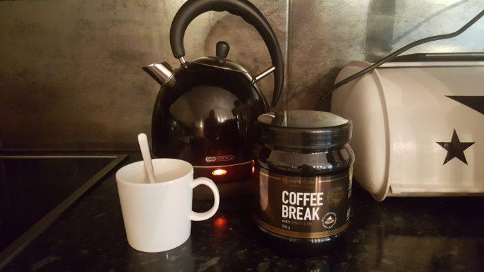 Coffee break – kahvia höystettynä proteiinilla