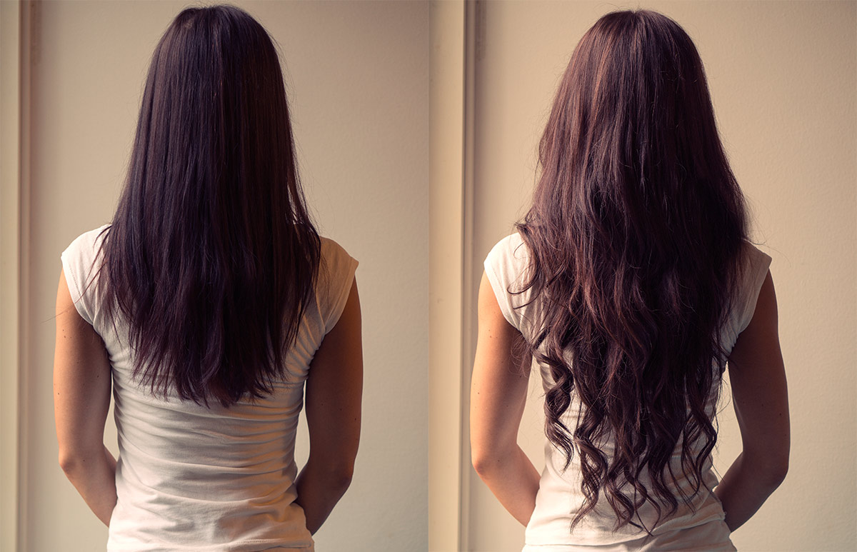 hiusten pidennykset