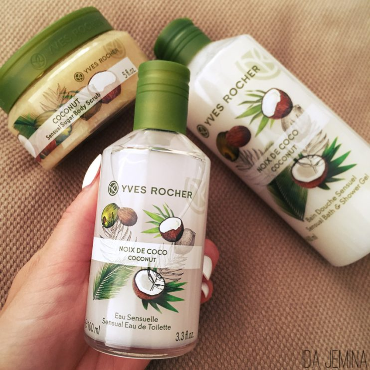 yves-rocher body lotion