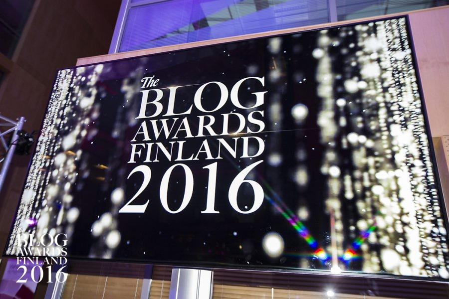 The Blog Awards Finland – Huh mikä ilta!