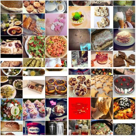 Kisadietillä tutuksi tullut instagramin ruokakuvien selaus on tullut takaisin :D