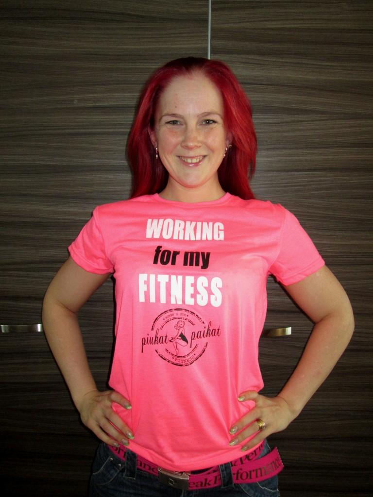 Working For My Fitness, treenejä valkun kanssa
