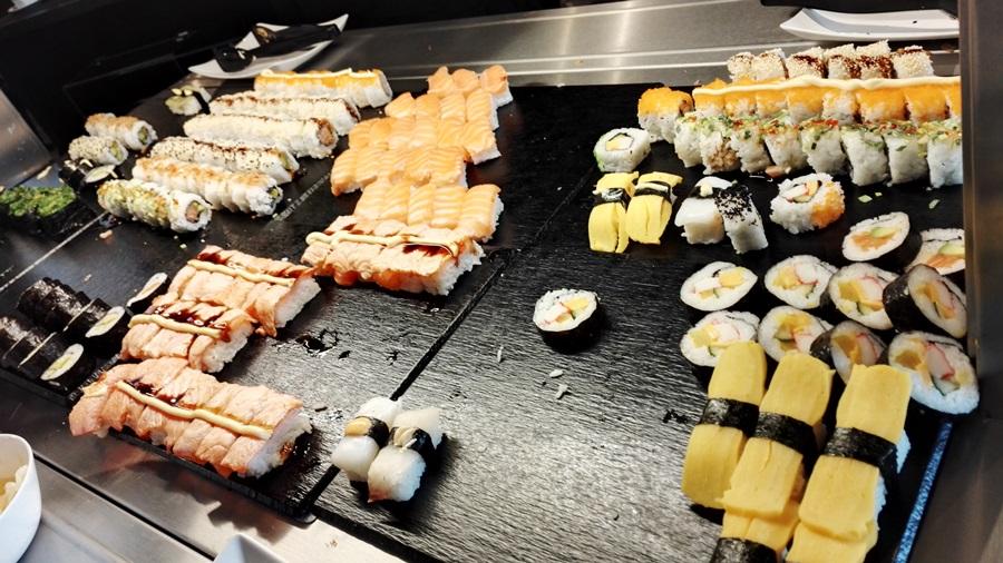 RA Sushi koukku ylös