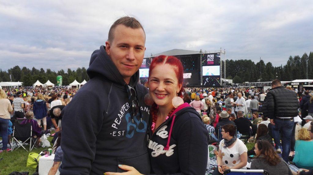 Ystävyyden rytmejä Pori Jazzeilla