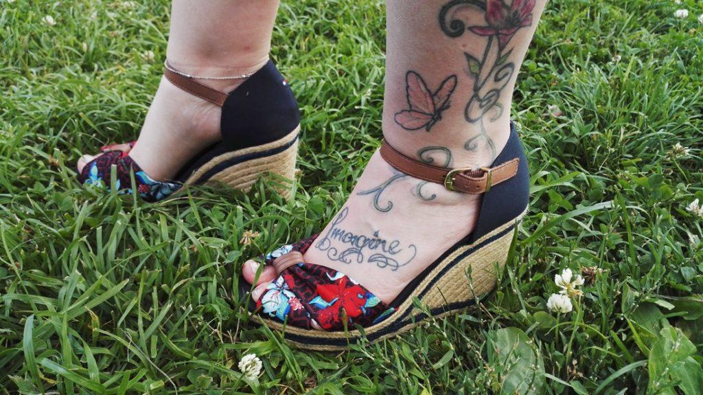 Saanhan olla hieman rakastunut kenkiin?