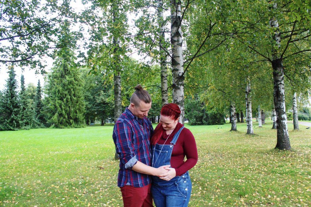 raskaus ja parisuhde