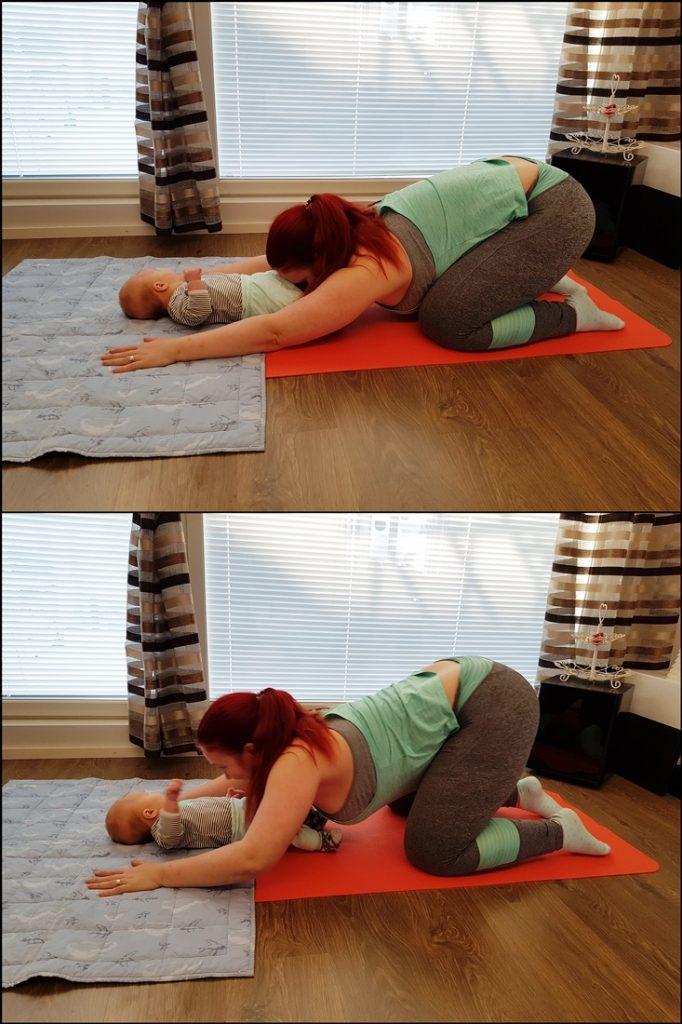äiti-vauvajumppa