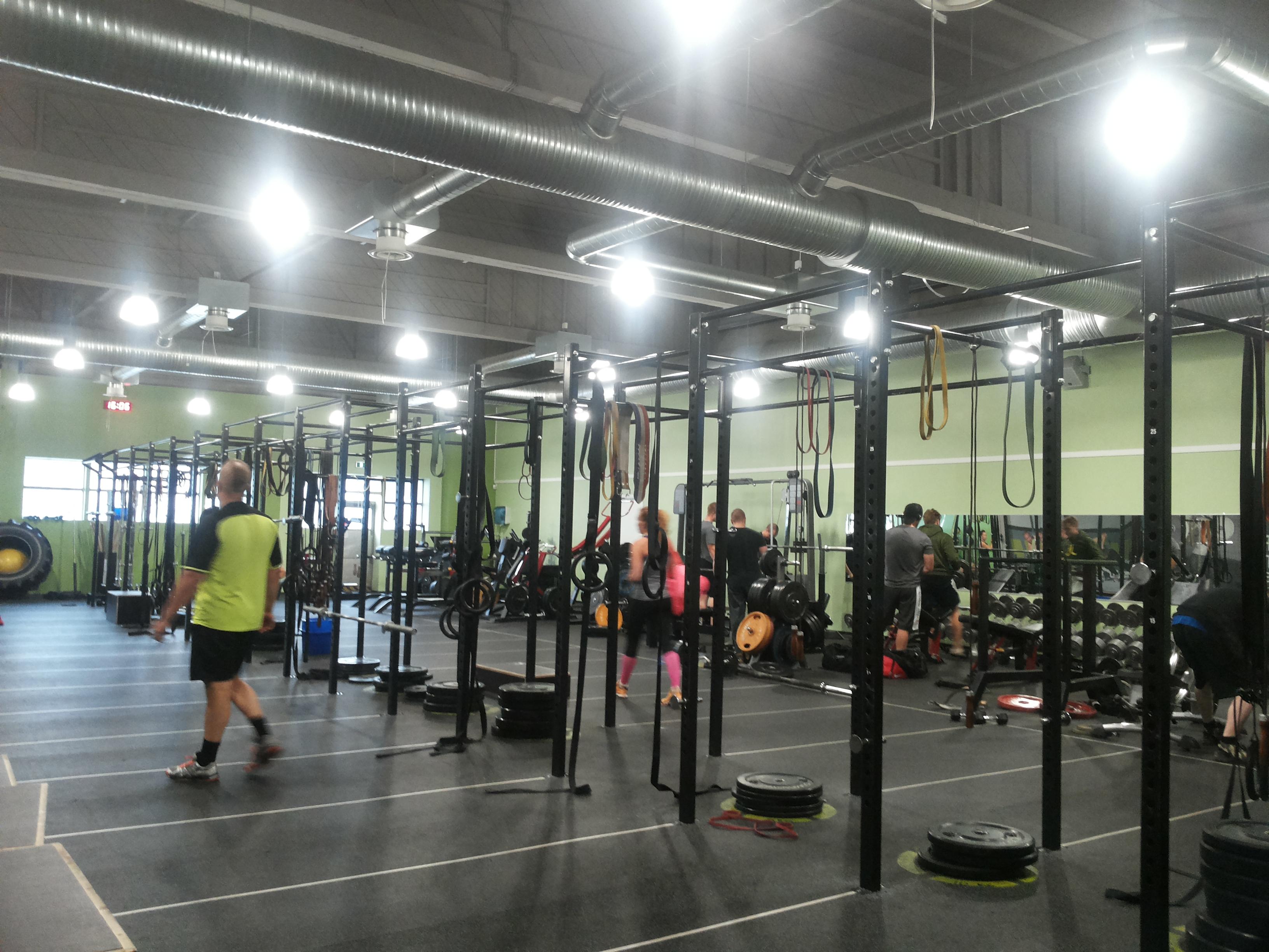Kokeilussa CrossFit!