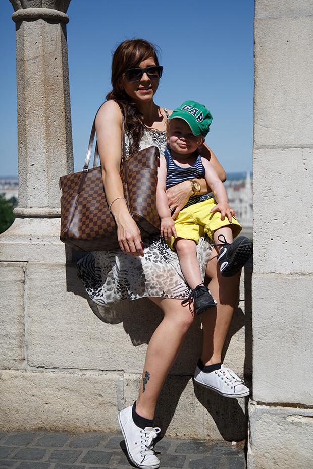 Taaperon kanssa Budapestissa