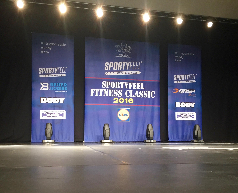 Fitness Classic paketissa