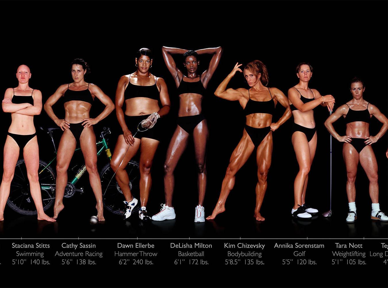 urheilullinen vartalo
