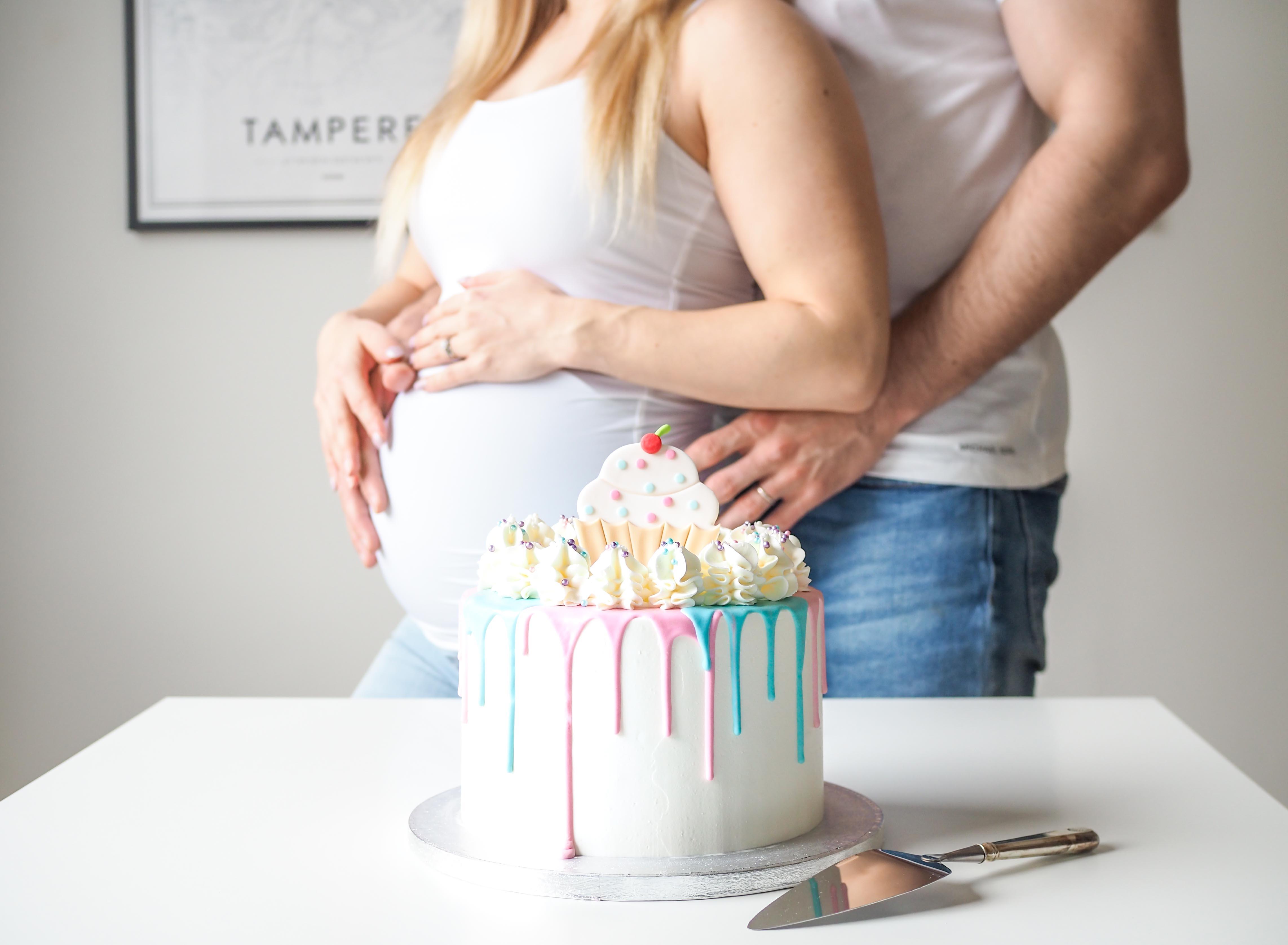 sukupuolen paljastus kakku