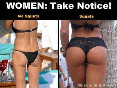 Tää kuva ei oo oikeesti mikään vitsi, vaan totista totta. Lihakset tuo naiselliset muodot!