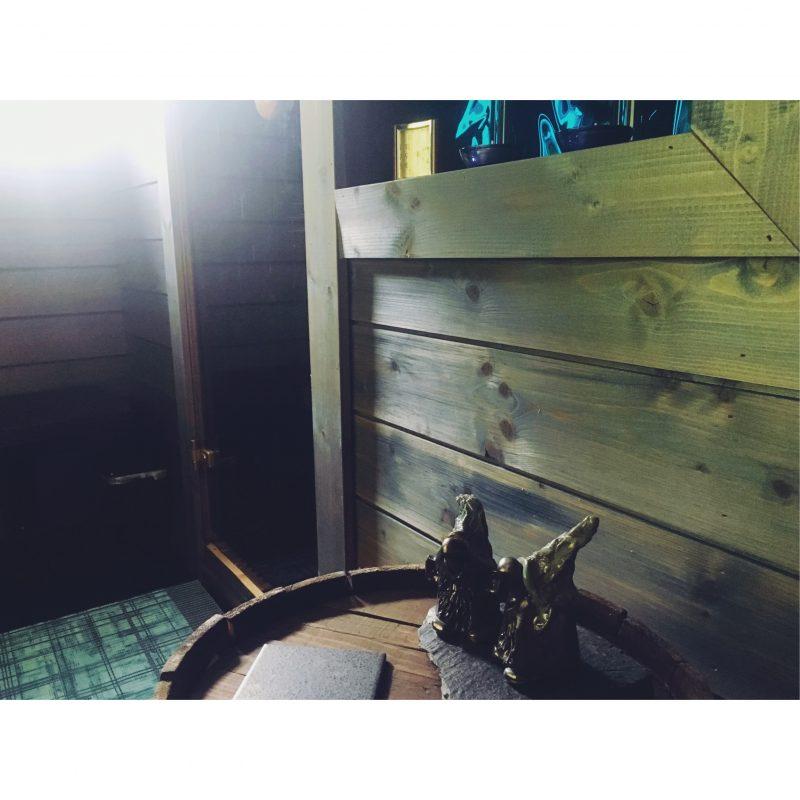 mökki sauna