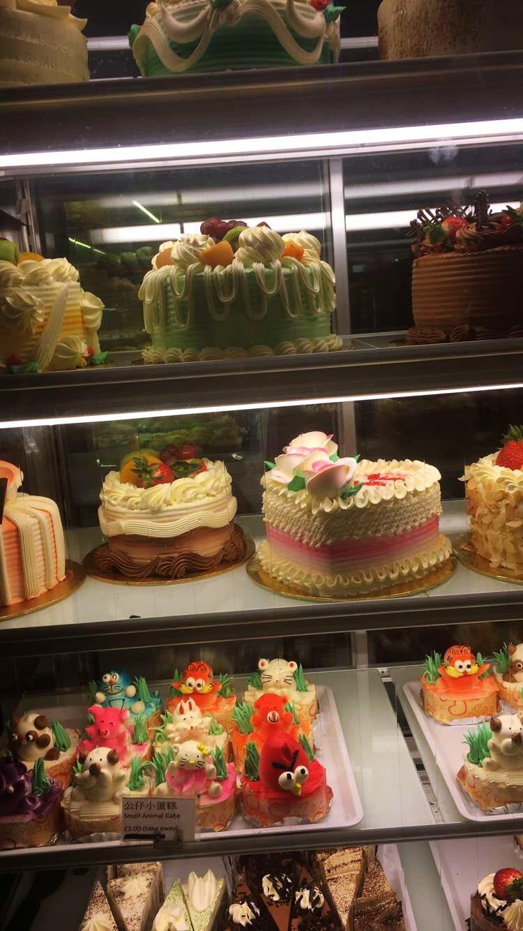 Lontoo-Chinatown-cakes