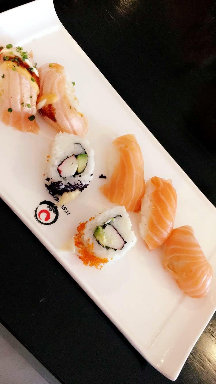 Sushi.ruokavalio.lounas