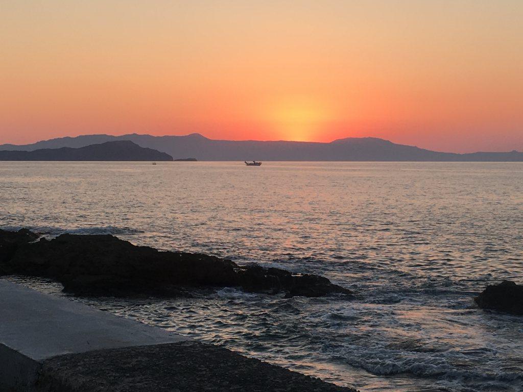hania-auringonlasku-vanha-kaupunki-kreeta