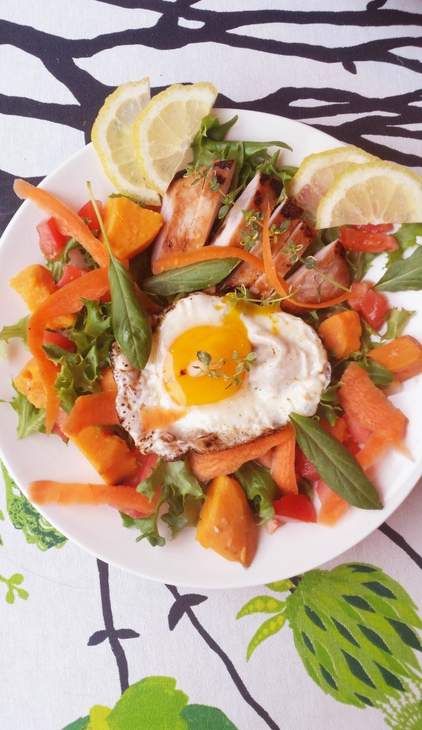 Maukas, värikäs proteiinipitoinen ateria / Lounasvinkkejä
