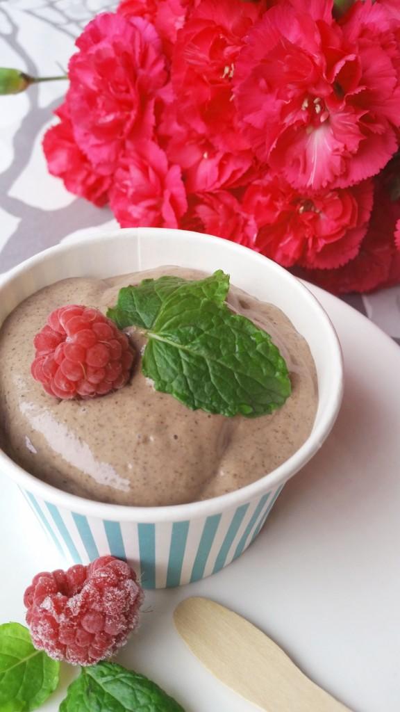 Proteiinipitoinen suklaavanukas (maidoton, vegaani)