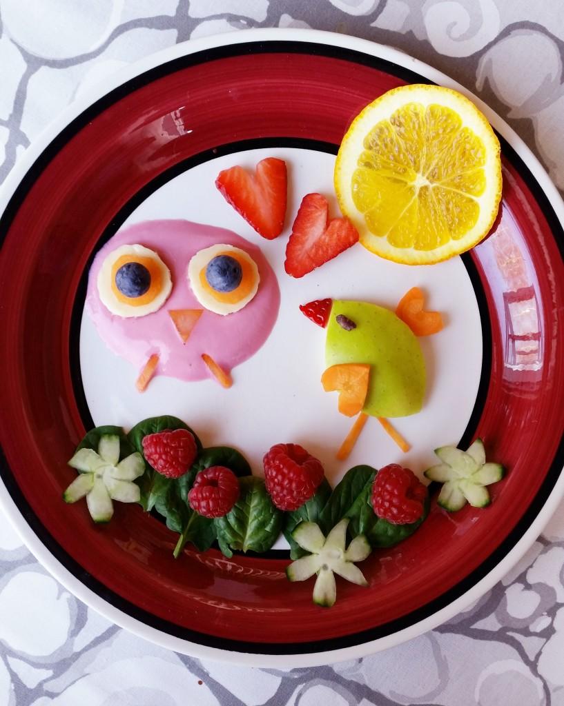 Ruokataidetta – välipalaa lapsille ja lapsenmielisille