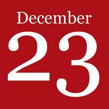 Joulukalenterin 23. luukku
