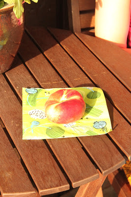 Bongattu ufoja hedelmähyllyllä