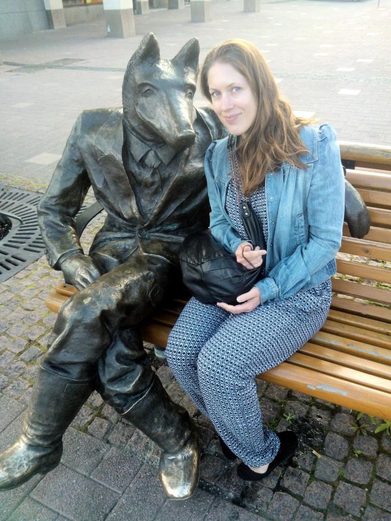 Savonlinnasta ajeltiin Joensuuhun, jossa tapasin herra ketun.