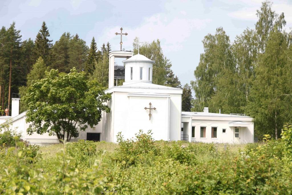 Ja toki myös Lintulan luostarin rauha oli koettava.