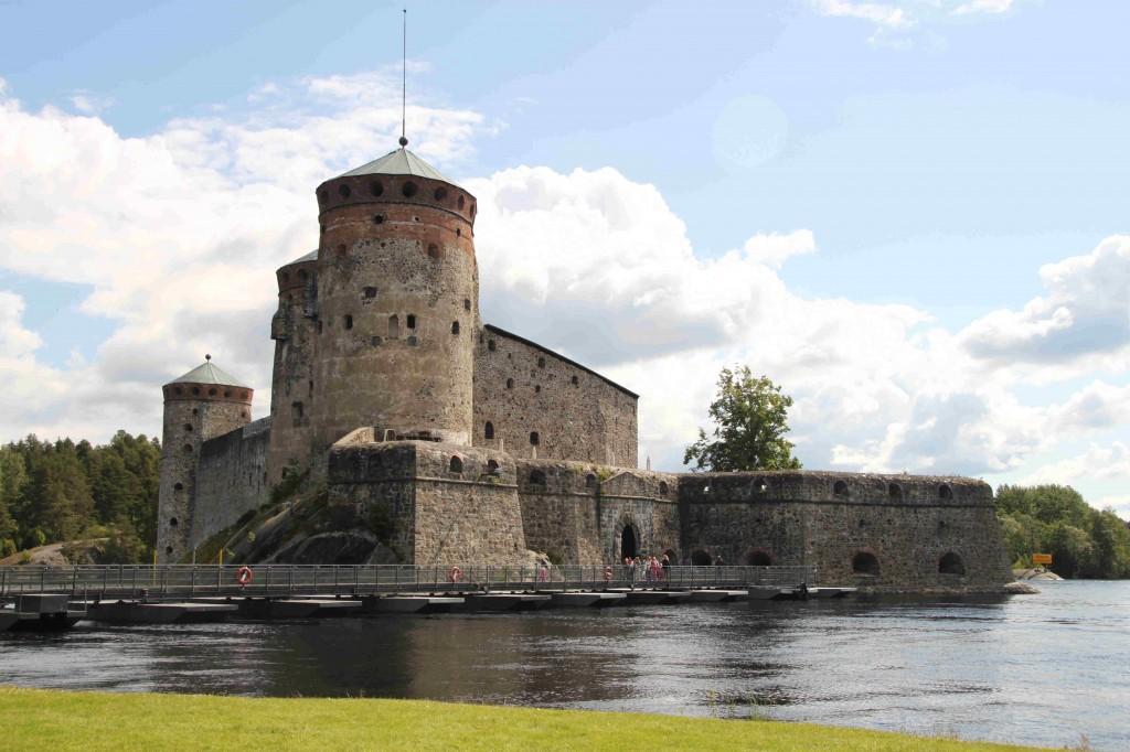 Neljäntenä reissupäivänä suunnattiin Savonlinnaan.