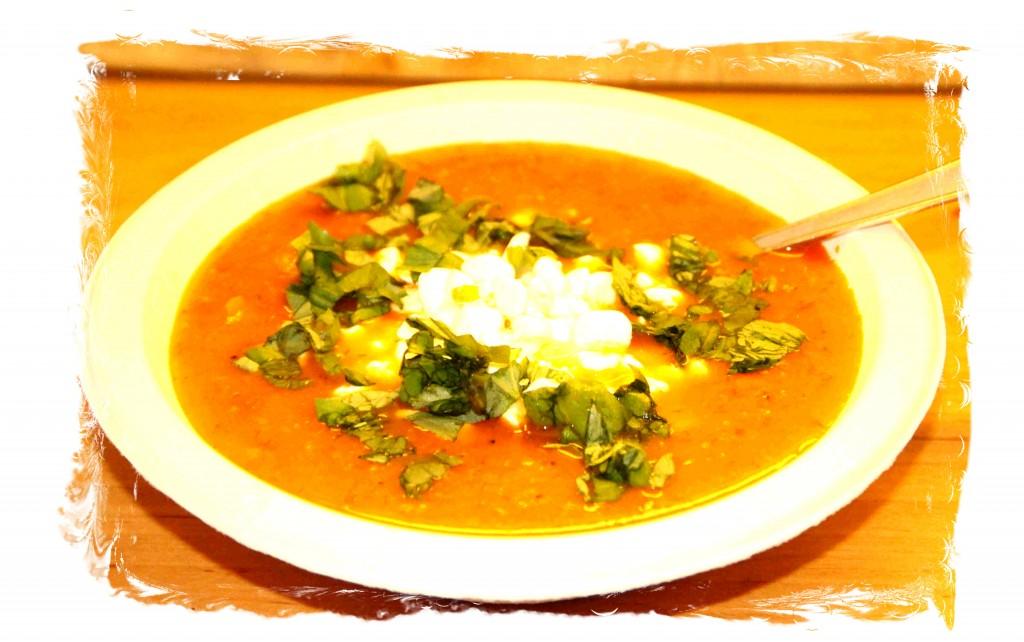 Taivaallinen, terveellinen ja tulinen tomaattikeitto
