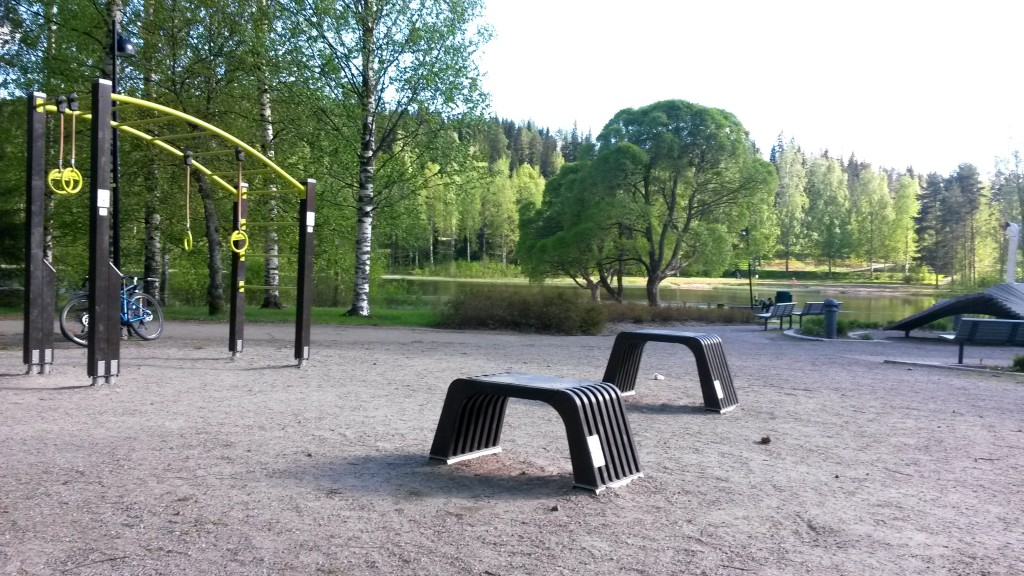 Testissä Jyväskylän ulkoliikuntapaikat. Osa 1: Kangaslammen toimintapuisto