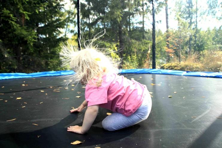 Mun trampoliinikaveri. :)
