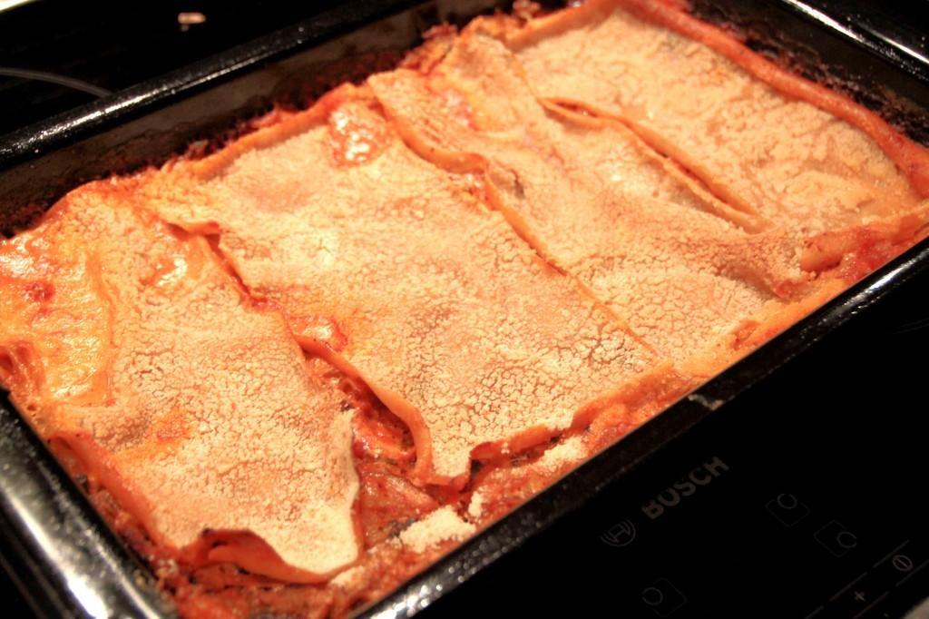 Arkiruokavinkki: herkullinen lasagne (maidoton ja vegaaninen)