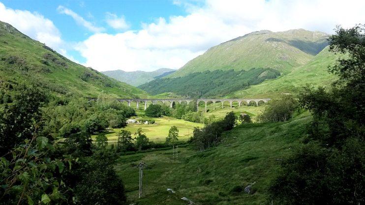 Junaradan reitti on rankattu yhdeksi maailman kauneimmista. Harry Potteria ei näkynyt. Ehkä ensi kerralla. ;)