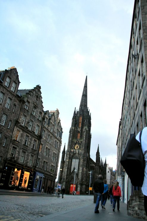 Edinburghin kadulla