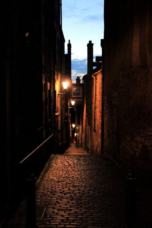 Edinburgh yöllä
