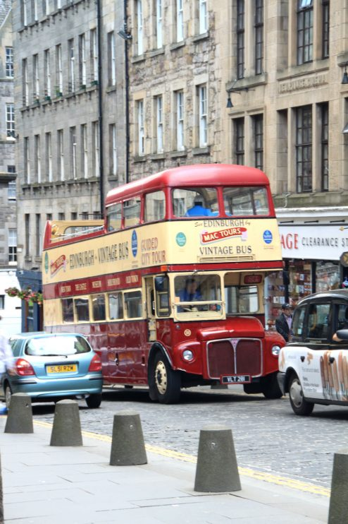 liikenne Edinburgh